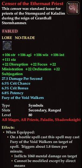 Timeline signature : The Shadow Odyssey - EQ2